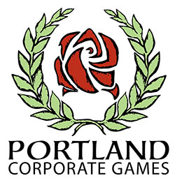 Portland Corporate Games Logo